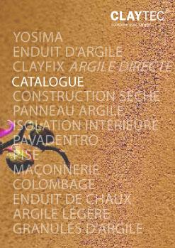 les mat 233 riaux de construction en argile claytec un programme complet qui r 233 pond 224 toutes vos